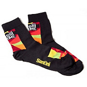 Santini Cinelli Chrome Coolmax Socks 2015